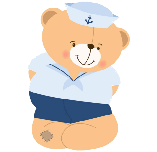 Ositos marineros, imprimibles gratuitos5