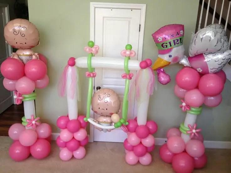 Decoraciones Con Globos Para Baby Shower Dale Detalles