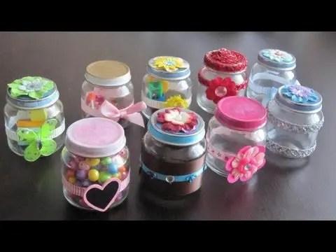 ideas para reutilizar frascos de vidrio dale detalles