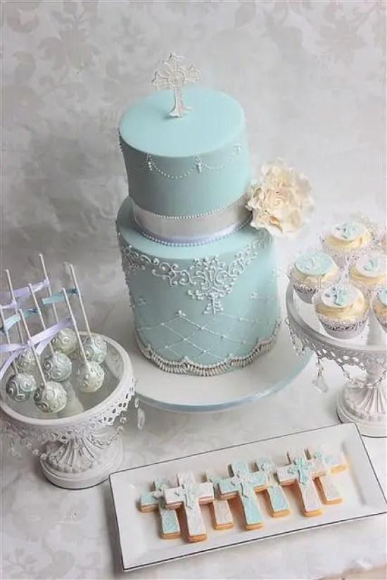 pastel para bautizo13