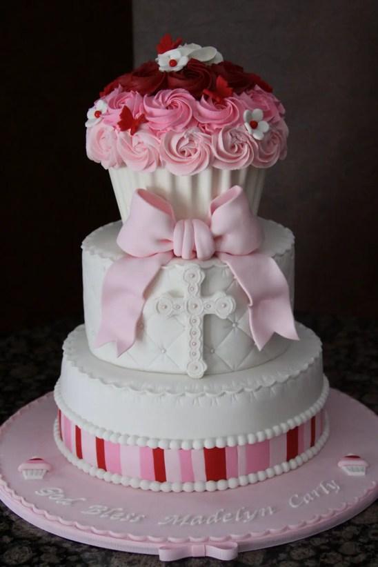 pastel para bautizo2