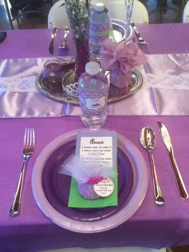 baby shower en tono purpura y verde14