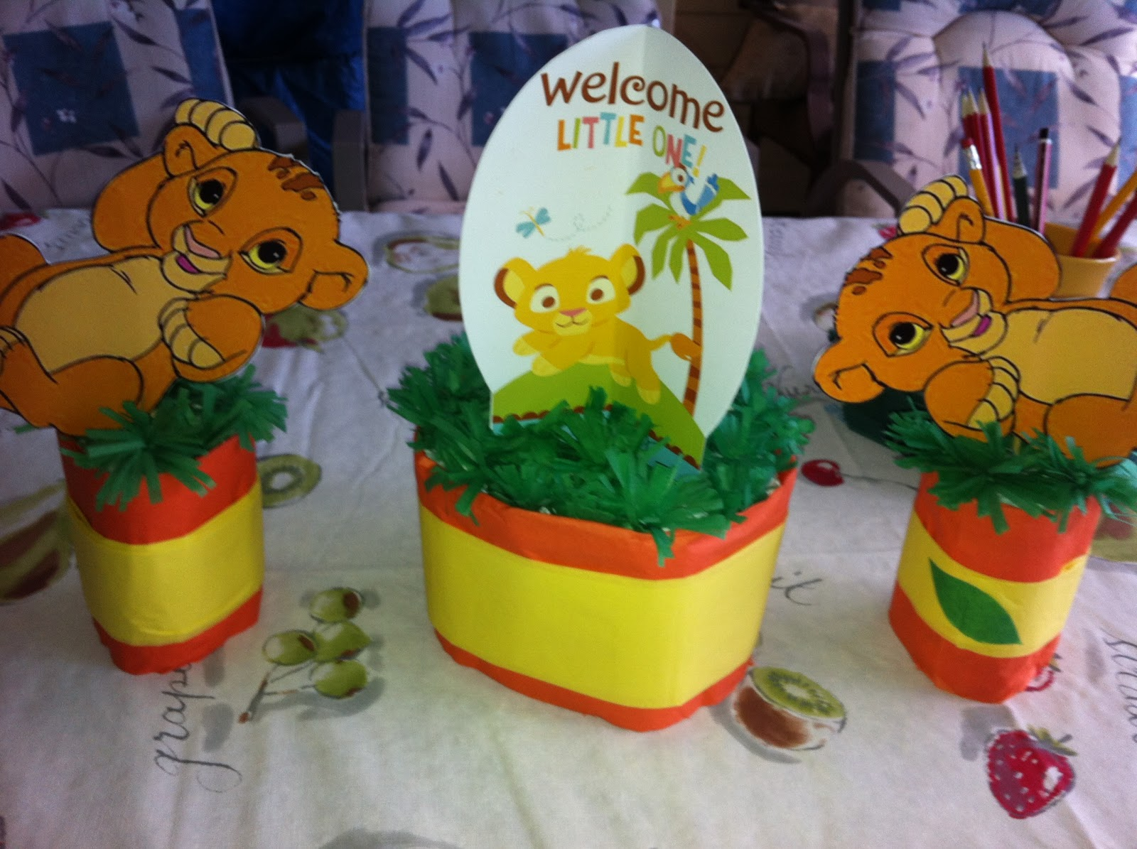 Baby Shower Simba Rey Le 243 N Dale Detalles