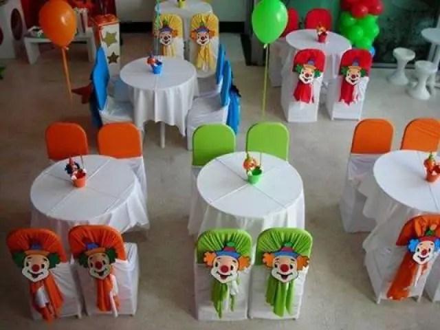 Decoraci n de sillas para fiestas infantiles dale detalles for Sillas decoracion