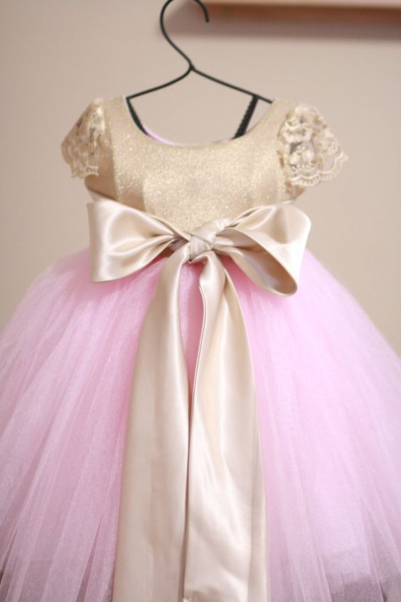 Vestidos de tul para niñas - Dale Detalles