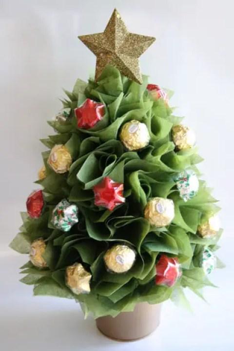 Ideas Para Regalos De Navidad Originales #3: Arreglos-con-chocolates-ferrero3.jpg?resize=480%2C720