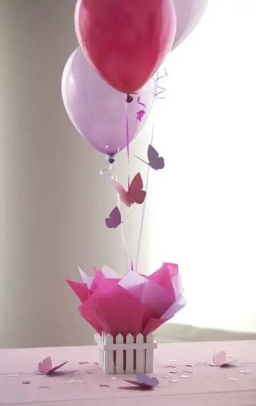 Incre bles centros de mesa con globos dale detalles - Bombas para decorar ...
