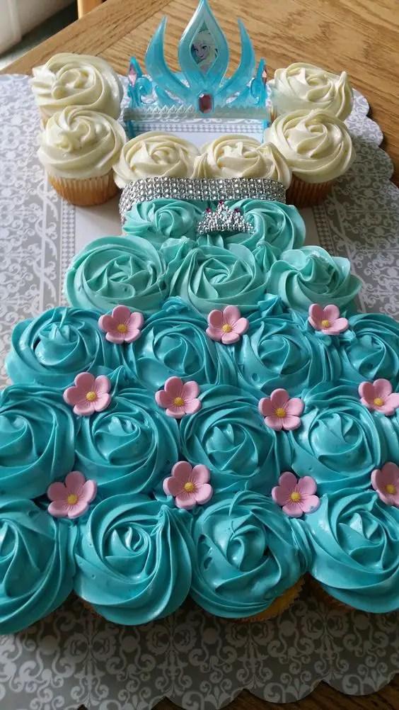 Hermosos Vestidos De Princesas Con Cupcakes Dale Detalles