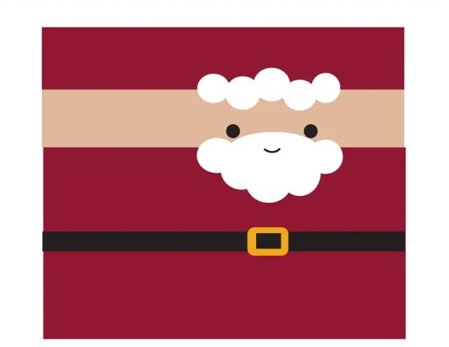 envoltura para chocolate navidad2