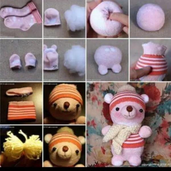 ideas para reciclar calcetines6