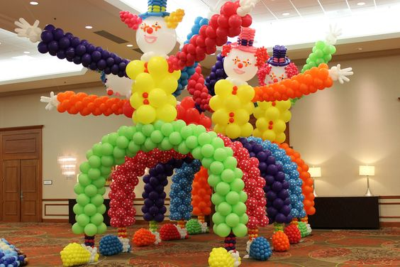 Fiesta infantil de payasos dale detalles - Preparar fiesta infantil ...