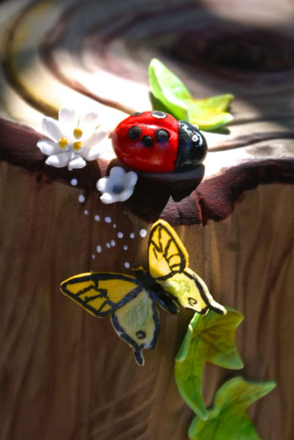 woodland+party+cake+close+ladybug