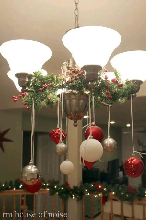 hermosas ideas para decorar con esferas en navidad dale detalles. Black Bedroom Furniture Sets. Home Design Ideas