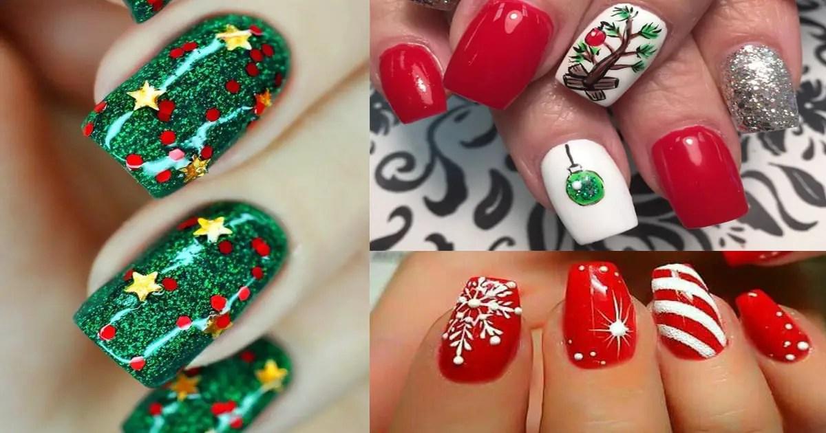 Decoración De Uñas Inspirada En Navidad Dale Detalles