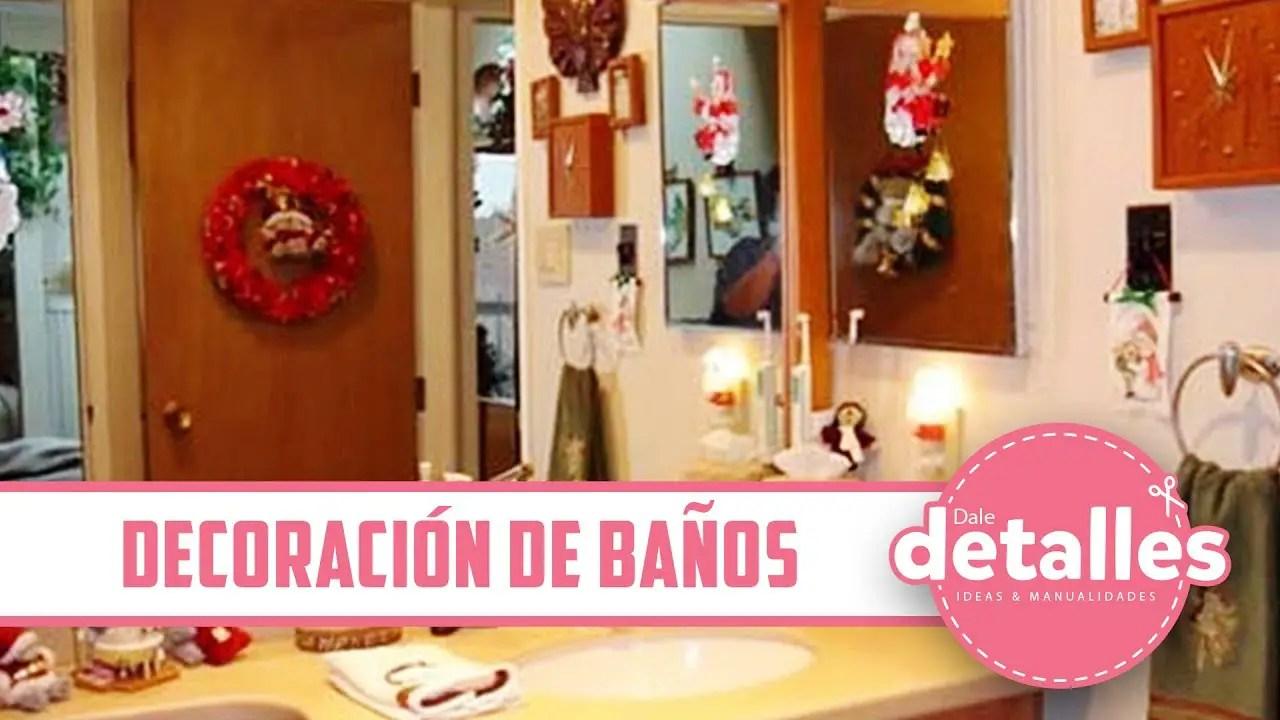 Cmo decorar el bao en Navidad  Dale Detalles