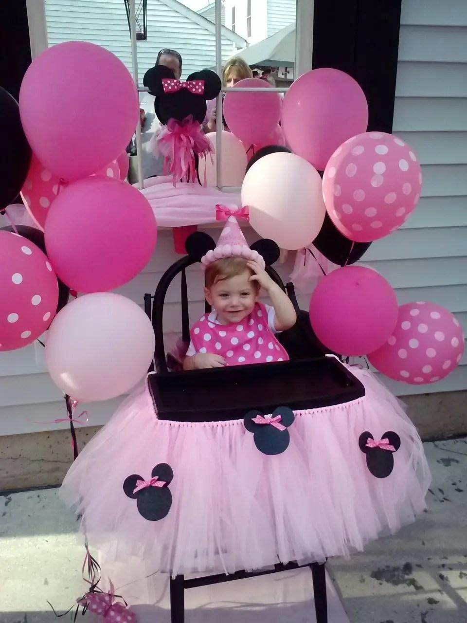 Ideas para decorar la silla del beb en su primer - Cumpleanos de bebes ...