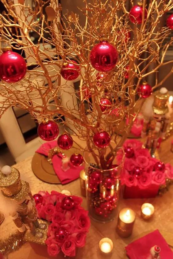 Decoraci n para navidad con ramas secas - Decoracion con ramas de arboles ...
