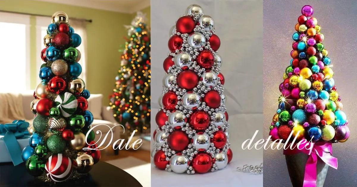 Rbol navide o con esferas dale detalles - Decoracion de arboles navidenos para ninos ...