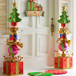 Decoraciones navide as con cajas de cart n dale detalles - Decoracion navidena manualidades ...
