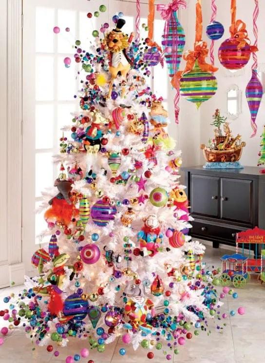 Decoraci 243 N Para 225 Rboles De Navidad Blancos Dale Detalles
