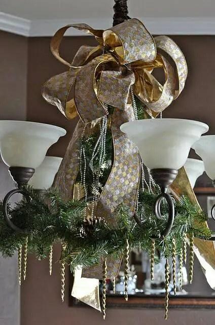 Ideas Detalles de techo en para Dale lámparas Navidad decorar E9DHI2W