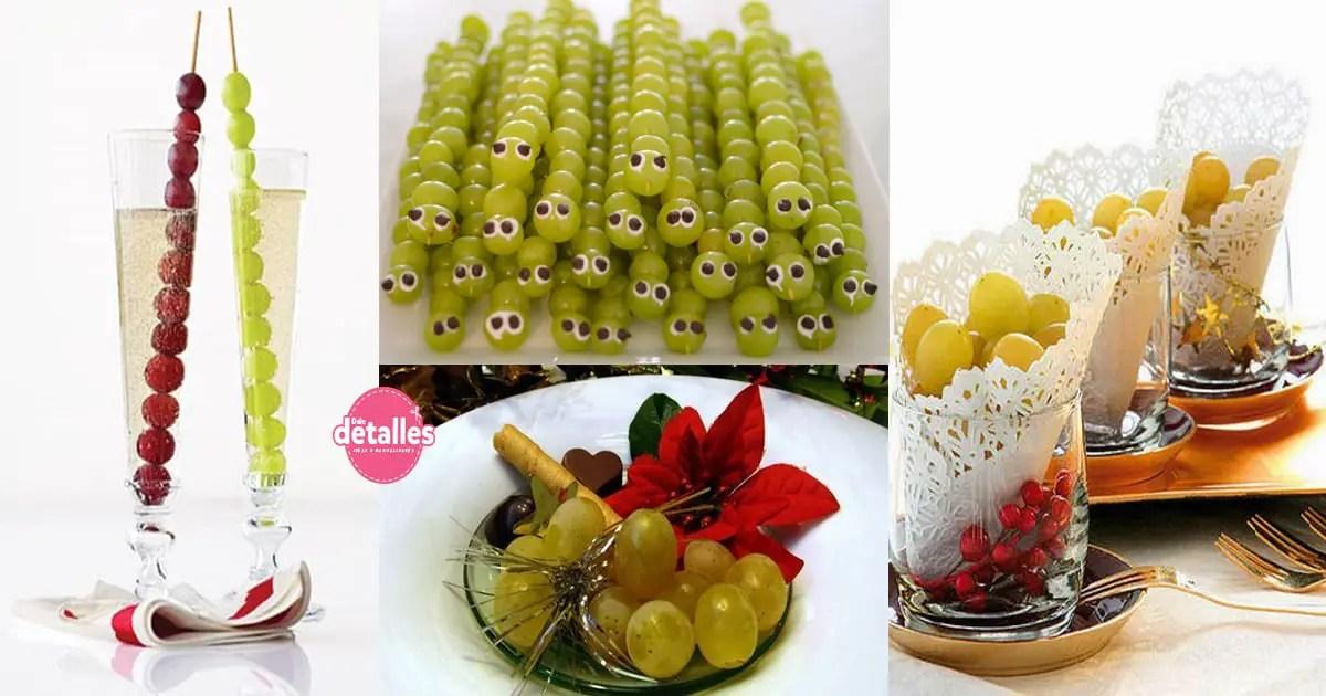 Ideas creativas para presentar las doce uvas , Dale Detalles