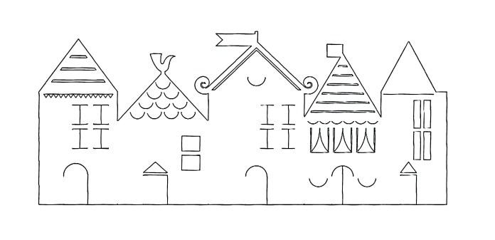 villas-con-cartulina-plantilla