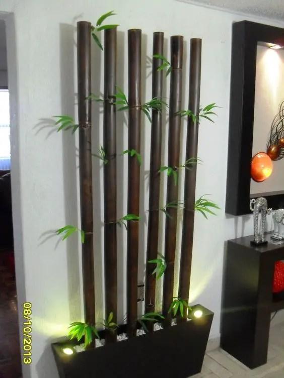 Hermosas ideas para decorar con bamb dale detalles - Cana bambu decoracion ...