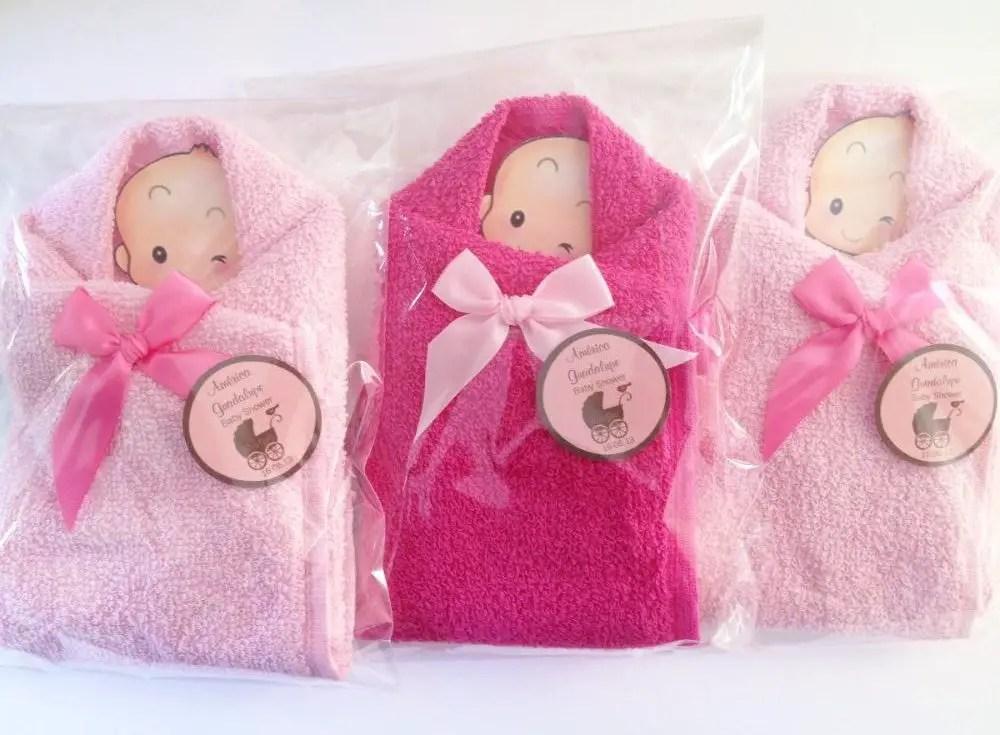 Ideas Para Recuerdos Baby Shower Nina.Obsequia Toallas Como Recuerdos De Forma Original Dale