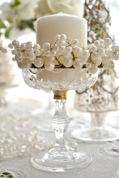Decoraci n con perlas dale detalles - Cristales de colores para mesas ...