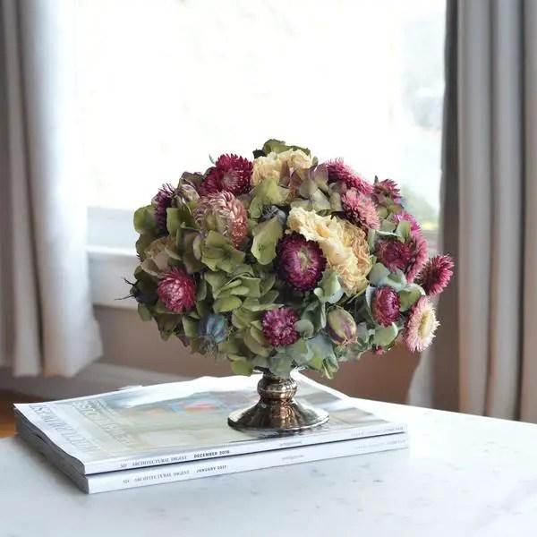 Fabulosos Arreglos Con Flores Secas Dale Detalles - Decorar-con-flores-secas