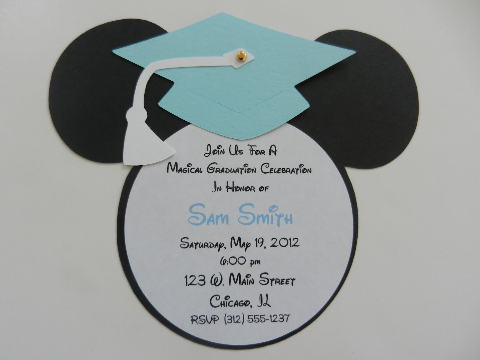 Invitaciones Para Graduación Con Moldes Dale Detalles