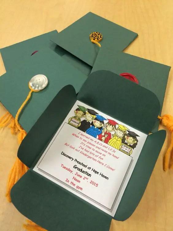 Nursery Book Cover Design : Invitaciones para graduación con moldes dale detalles