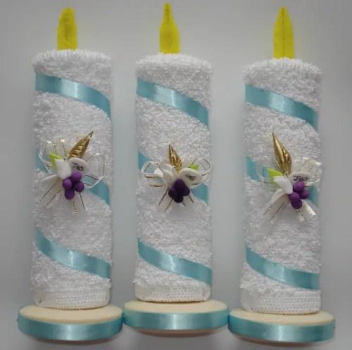 souvenirs para bautizos o primera comuni243n con toallas