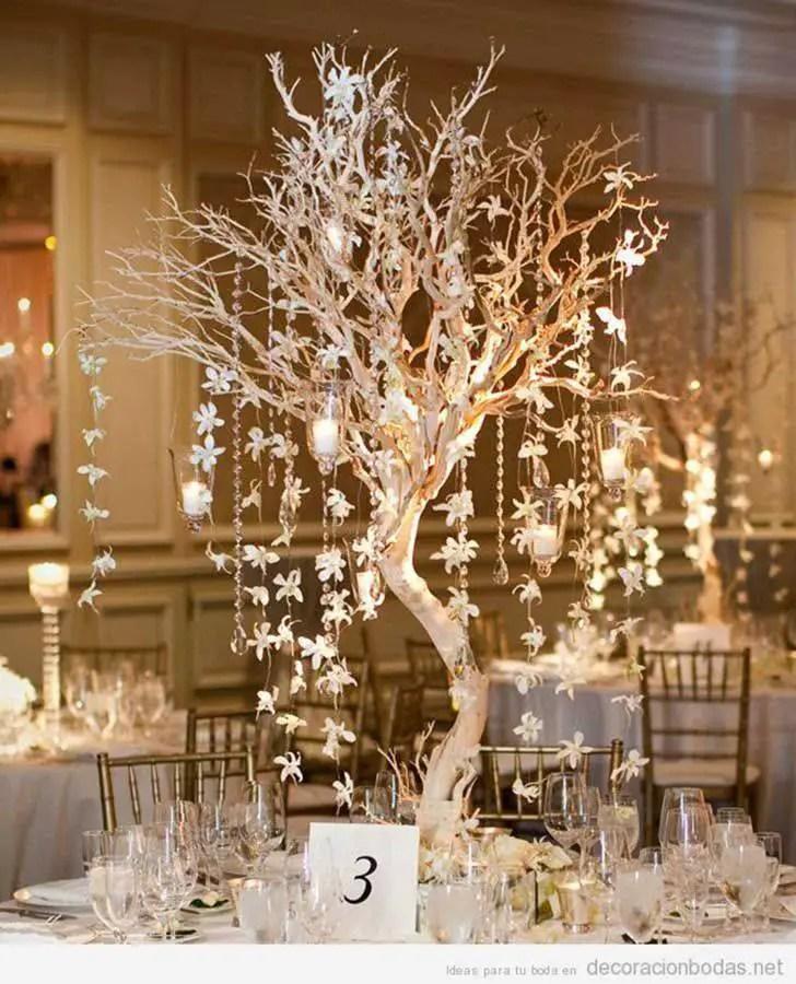 Hermosos centros de mesa con ramas secas dale detalles for Decoracion con ramas secas