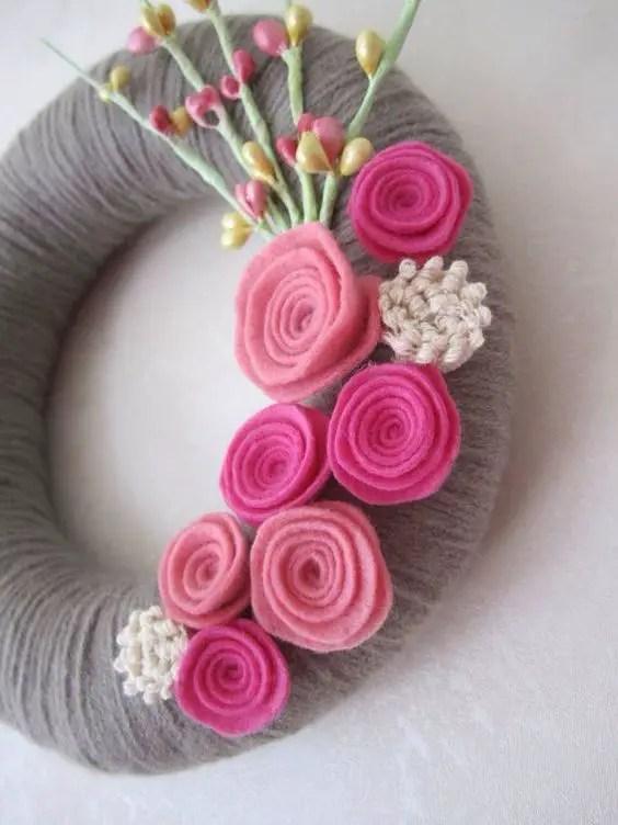 Rose Wreath Tutorial