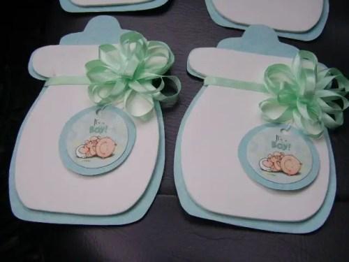 Invitaciones Con Forma De Biberón Para Baby Shower Dale