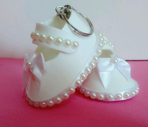 Zapatitos de foamy o goma eva para baby shower dale detalles - Detalles para baby shower ...