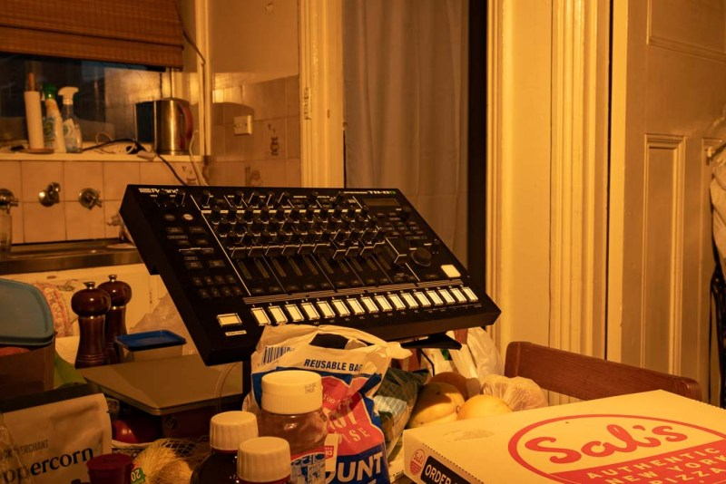 The Roland TR-8S in my Kitchen