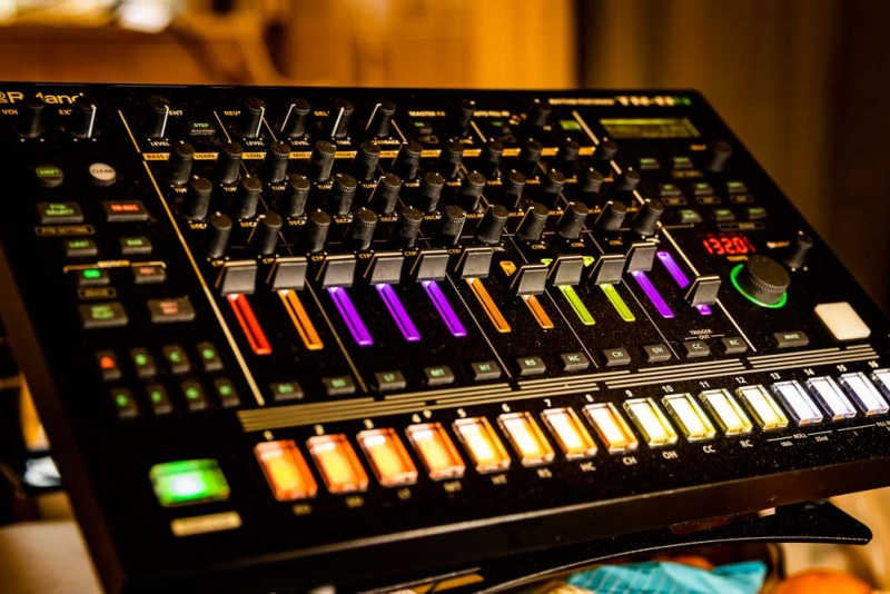 The Roland TR-8S Drum Machine