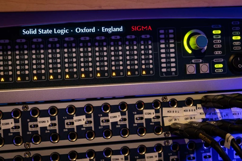 Solid State Logic Sigma Analog Summing Mixer