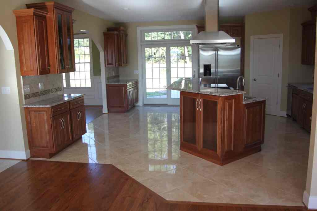 Should your Flooring Match Your Kitchen Cabinets or Countertops  Dalene Flooring