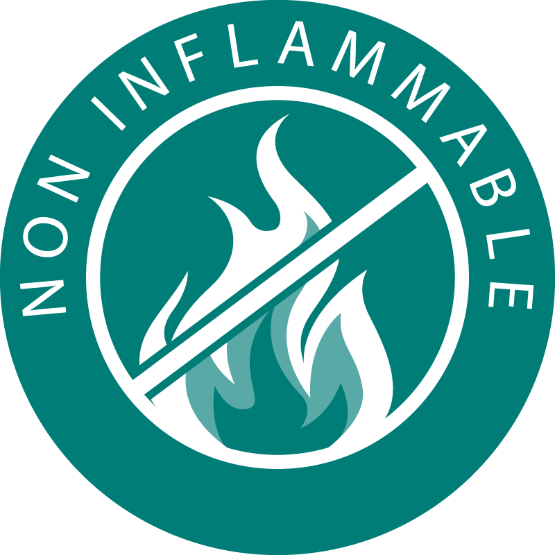 Logo Non inflammable