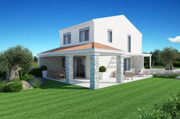 Modern House, Moderne Haus
