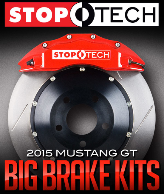 STOPTECH BIG BRAKE KITS: 2015 FORD MUSTANG GT