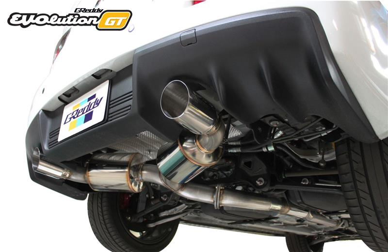 GReddy Press Release – New Evolution GT Exhausts for EvoX