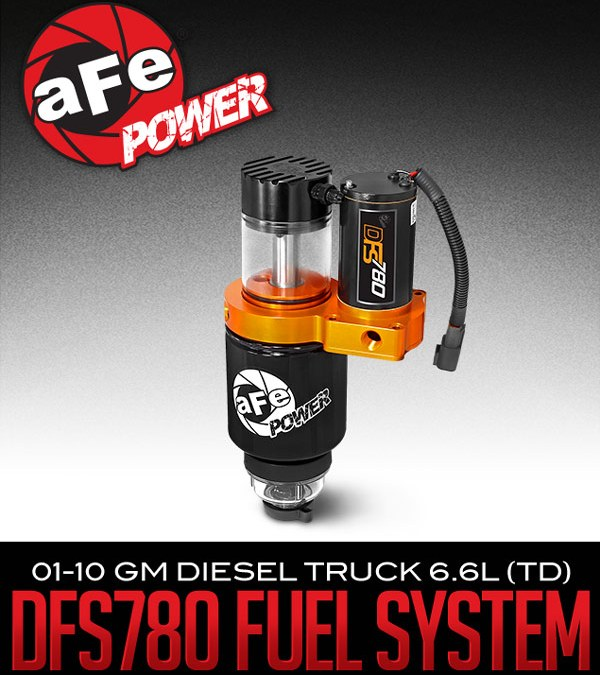 AFE POWER'S DFS780 DIESEL FUEL SYSTEM: 2001-10 GM DIESEL TRUCK 6.6L (TD) at Dales Motorsport