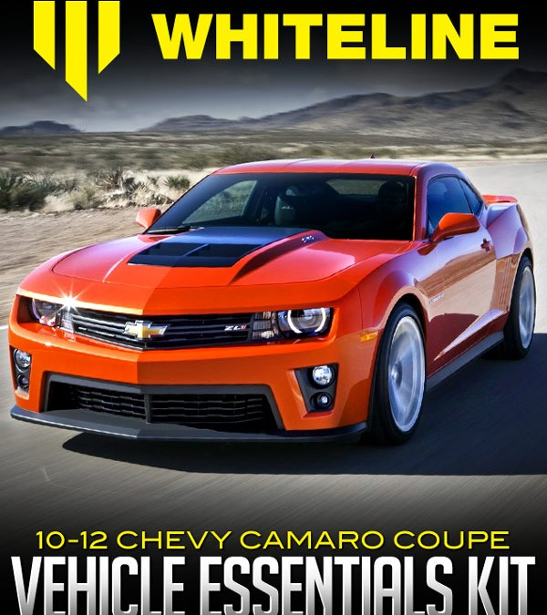 WHITELINE SUSPENSIONS F & R VEHICLE ESSENTIALS KIT: 2010-12 CHEVROLET CAMARO COUPE at Dales Motorsport/Dales Auto Service