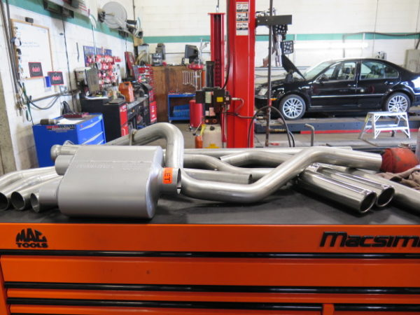 2014 F150 gets a new Flowmaster Exhaust at Dales Motorsport
