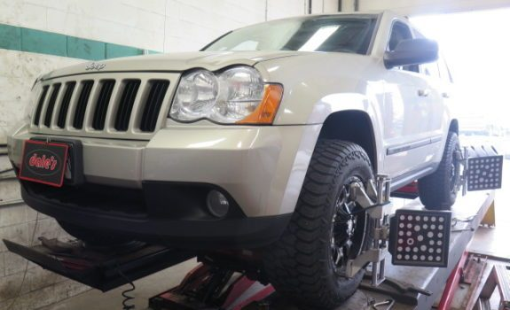 Jeep Grand Cherokee in for an OME(Old Man Emu) Lift Kit